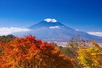 山梨県 二十曲峠から富士山