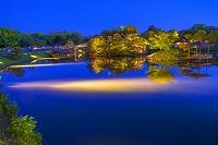 岡山県 後楽園ライトアップ