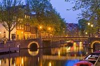 オランダ アムステルダム 水路
