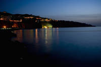 イタリア ソレント半島 ナポリ湾 夜景