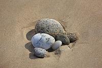 フランス ブルターニュ地方 ラ岬の浜の小石