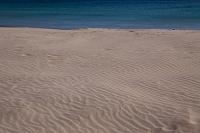 白浜海岸 砂の風紋