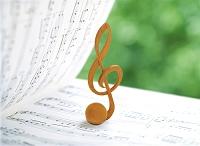 楽譜とト記号