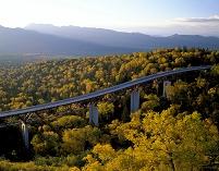 北海道 三国峠の松見大橋