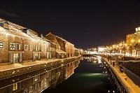 北海道 雪の小樽運河