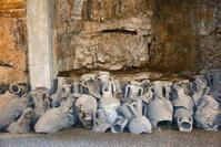 クロアチア プーラ 円形劇場 地下博物館