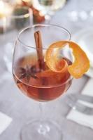 ワイングラスのドリンク