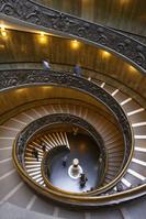 バチカン美術館 螺旋階段