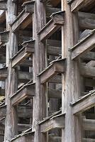 京都府 京都市 舞台」の足組 清水寺