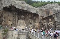 中国 奉先寺の仏像群と盧舎那仏座像