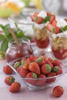 ストロベリーパフェ 材料の苺