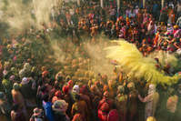 インド マトゥラー ホーリー祭