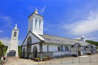 長崎県 外海の出津集落 出津教会堂と鐘塔