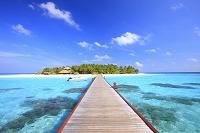 モルディブ 夏のリゾート島