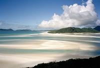 オーストラリア グレートバリアリーフ ホワイトヘブンビーチ
