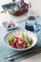 蛸と夏野菜の柔らか煮