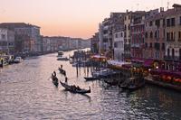 イタリア ヴェネツィア 夕景