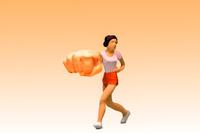 フィギュア パンチの強い女性