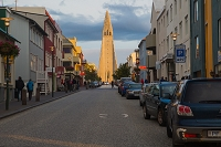 アイスランド レイキャビークの町並み