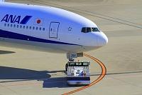 東京都 羽田空港 出発するANAボーイング777