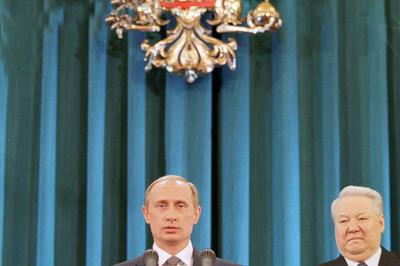 プーチン露大統領が就任(2000年5月7日)