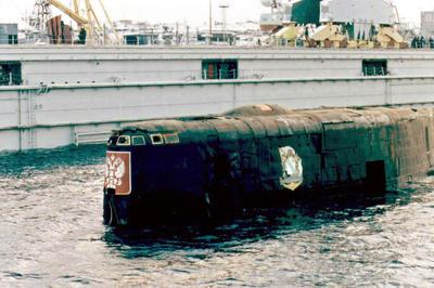 露原子力潜水艦クルスク沈没事故(2000年8月12日)