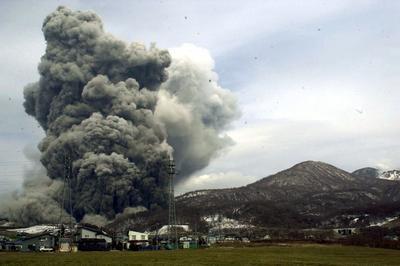 有珠山噴火(2000年3月31日)