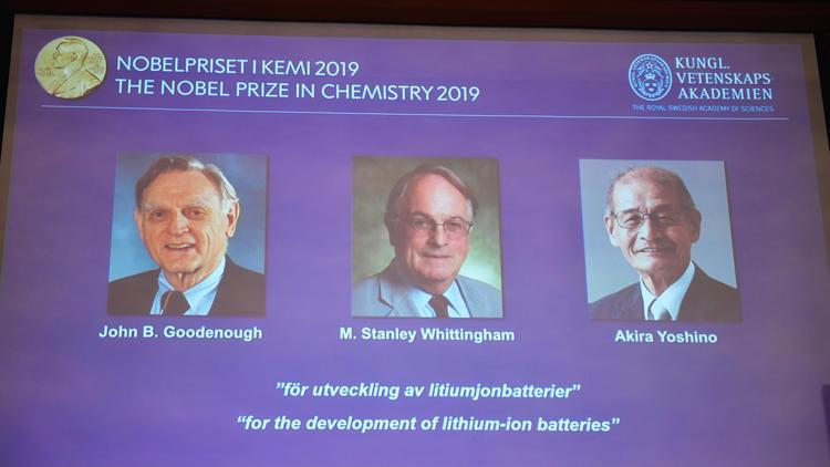 2019年ノーベル賞 各賞受賞者を発表