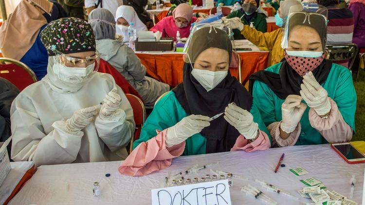 新型ウイルス肺炎が世界で流行