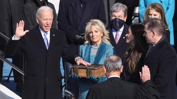 第46代アメリカ合衆国大統領就任式