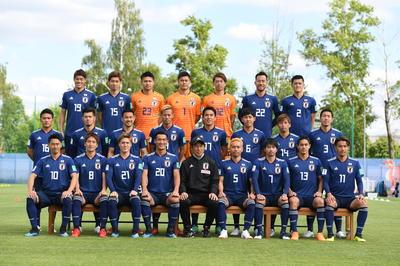サッカー男子日本代表メンバー