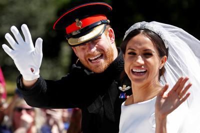 英ヘンリー王子&メーガン妃