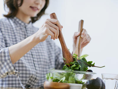 健康なライフスタイルと食