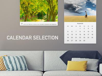 カレンダー向けセレクション