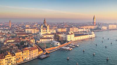 世界の美しい空撮風景
