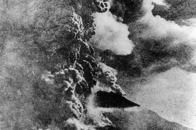 桜島大正大噴火(1914年1月)