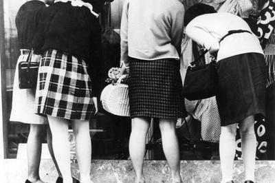 ミニスカートの流行(1960年代)