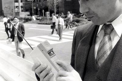携帯電話の登場 (1980年代)