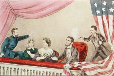 リンカーン大統領 暗殺事件 (1865年4月)