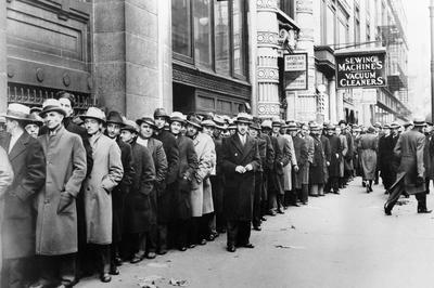 世界大恐慌(1929年10月)