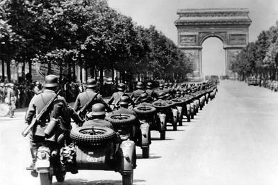 第2次世界大戦 パリ陥落・仏占領(1940年)
