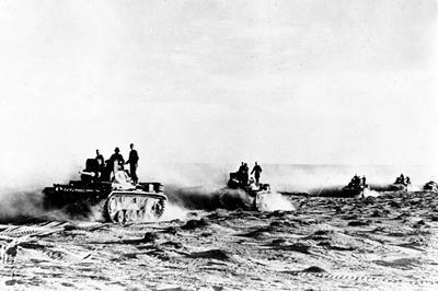 第2次世界大戦 北アフリカ戦線(1940年9月~)