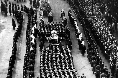 ジョージ6世崩御 (1952年2月)