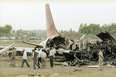 インディアン航空605便事故 (1990年2月)