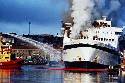 スカンジナビアン・ スター号火災事故 (1990年4月)