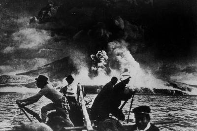 桜島(1914年1月)
