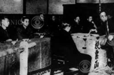 男子普通選挙開始(1928年2月20日)