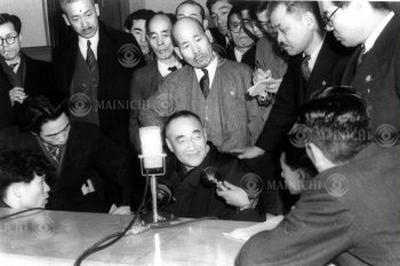 第2次吉田内閣「馴れ合い解散」(1948年12月23日)