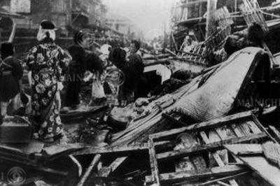 大正6年 東京湾台風 1917年10月
