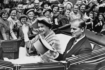 ジョージ6世逝去と即位の年